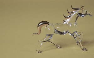 glass horse